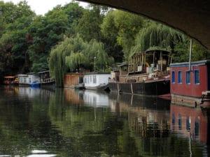 Croisière à Berlin en bateau mouche sur la Spree et les canaux