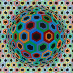 Musée Vasarely de Budapest : Jeux de formes et de perceptions [Obuda]