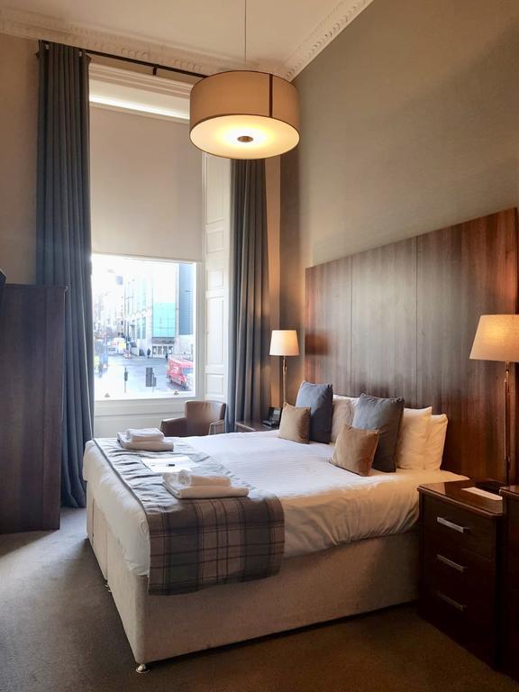 Hotel sobre et élégant : 28 York Place Hotel à Edimbourg.