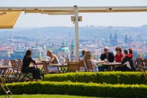 Bellavista, le restaurant avec vue panoramique sur Prague [Hradcany]