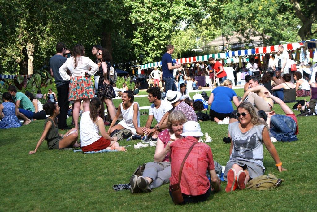 Londres en été : Où se baigner ? Quels parcs dans le centre ?