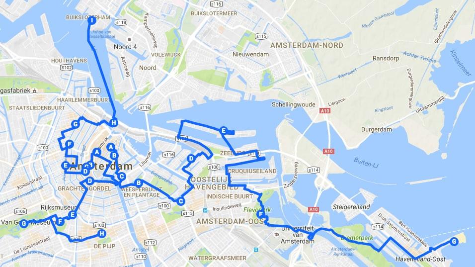 Itinéraires à Amsterdam pour un week-end de 2, 3, 4 jours