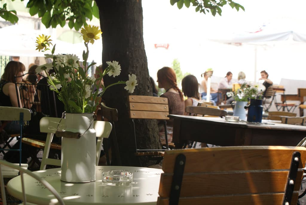 Mleczarnia, Café romantique à Cracovie [Kazimierz]