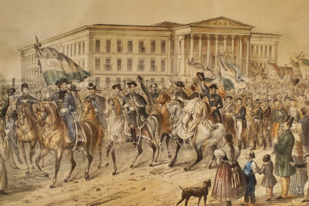 Musée National Hongrois (histoire) à Budapest [Józsefváros]