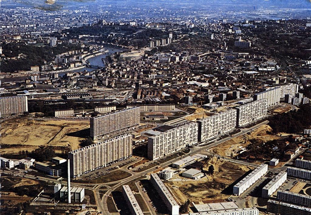 Cartes postales de Lyon des années 1960 / 1970