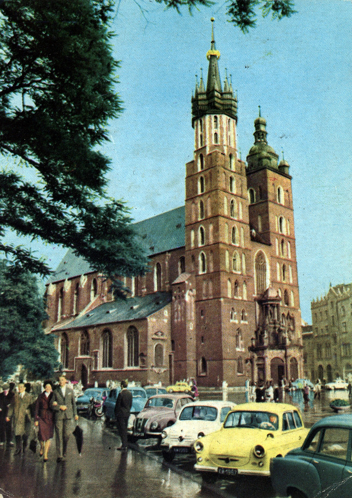 Basilique Sainte Marie de Cracovie et la légende des 2 frères  [Vieille ville]