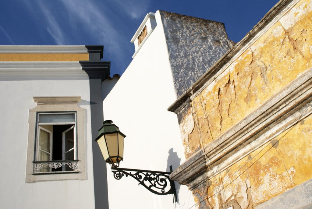 Dans le centre historique de Faro.