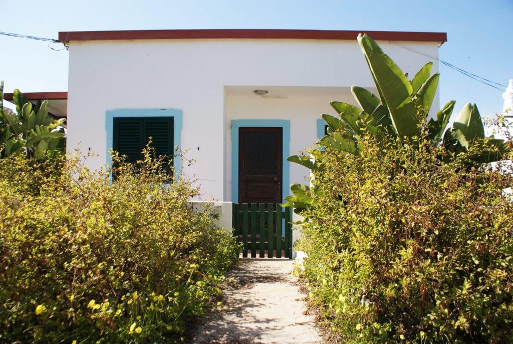 Petite maison secondaire et son jardin sur l'Ilha do Farol.