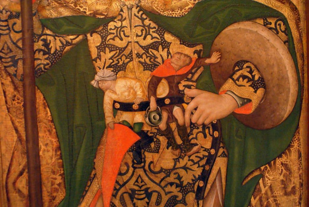 Retable de l'église San Benito de Séville - Musée des Beaux Arts de Séville.