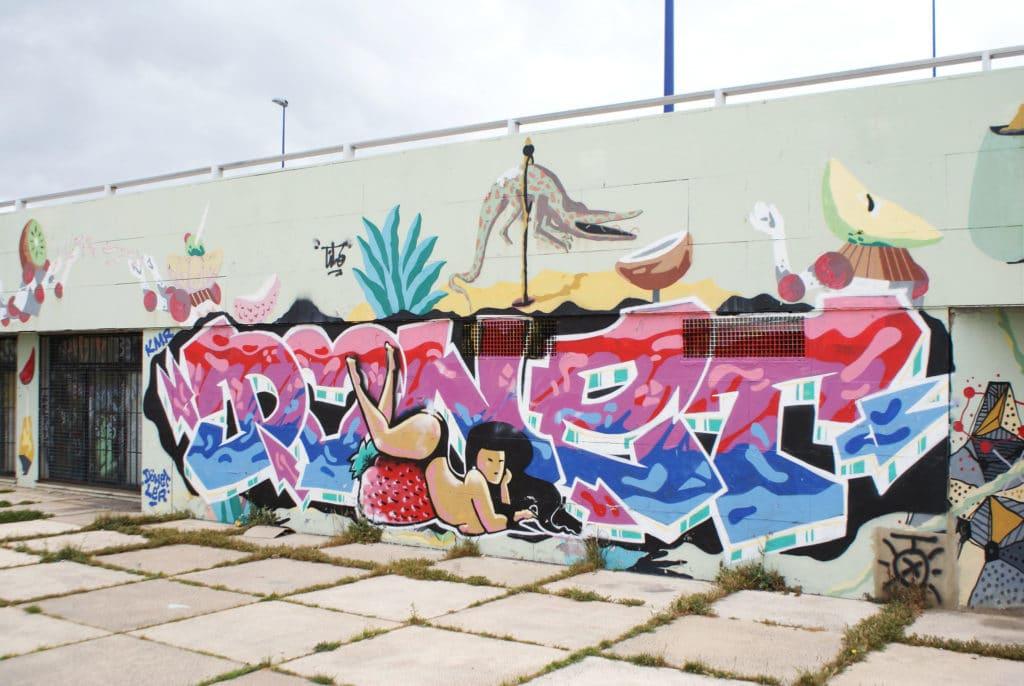 > Street art à Séville.