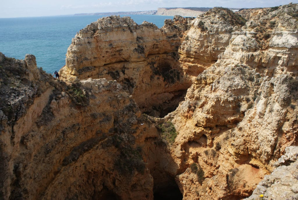 Ponta da Piedade à Lagos au Portugal.