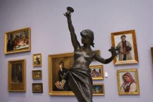 Musée des beaux arts du 19e siècle à Cracovie [Vieille ville]