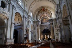 Monumentale cathédrale San Pietro à Bologne