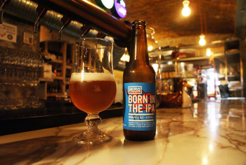 Bar à bières Grains 864 à Faro.