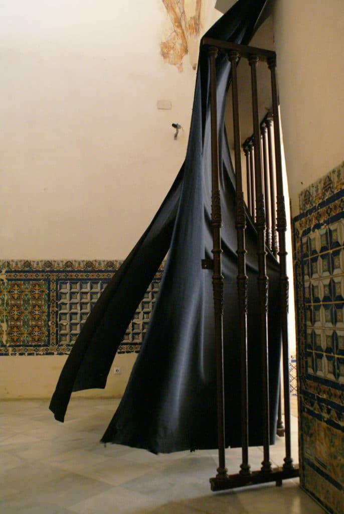 Dans le monastère du Centre Andalou d'Art Contemporain à Séville.