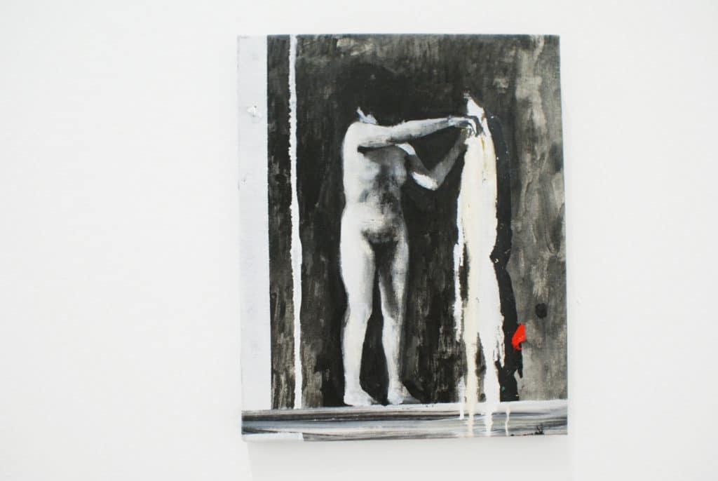 """""""Veronica"""" """"Jardin japonais"""" par Alfonso Albacete au CAAC, musée d'art contemporain à Séville."""
