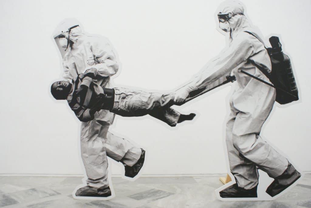 """""""Garden of catastrophes"""" """"Jardin des catastrophes"""" de Chto Delat au CAAC, musée d'art contemporain à Séville."""