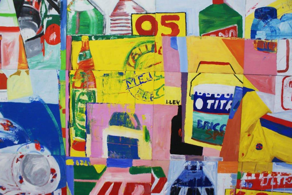 """""""Sin consumar"""" """"Sans consommer"""" (1998) de Manolo Quejido au CAAC, musée d'art contemporain à Séville."""