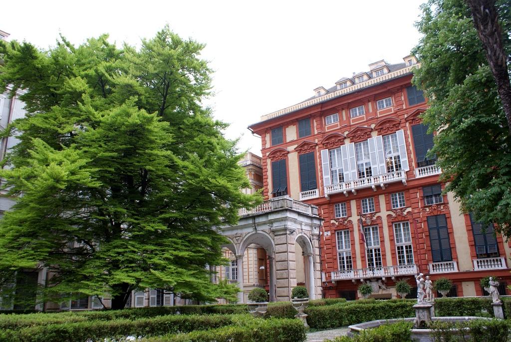 Incontournable Palazzo Rosso & Bianco à Gênes, Via Garibaldi  [Vieille Ville]