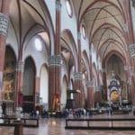 San Petronio à Bologne : La gigantesque église gothique