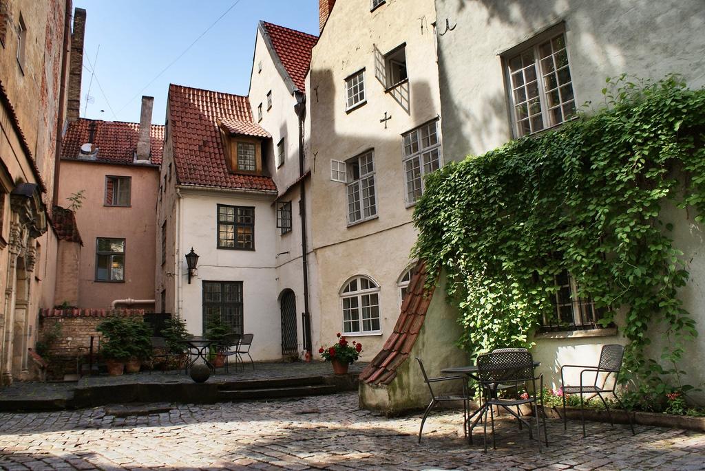 Quartier du Vieux Riga (Vecrīga), centre historique de la capitale