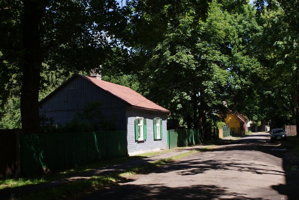 Quartier de Pardaugava à Riga, hors des sentiers battus derrière le fleuve