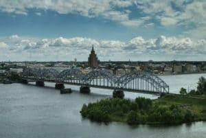 Vues panoramiques de Riga