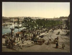 Lyon en 1900 : Magnifiques photos en couleurs