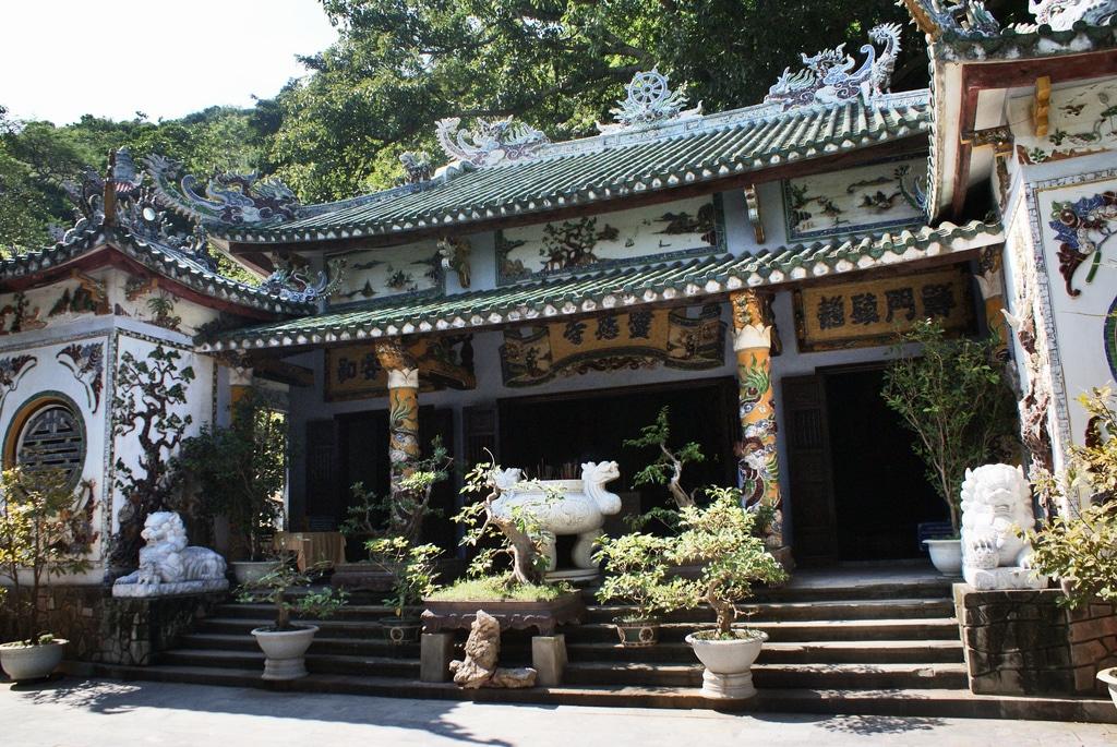 Sanctuaires bouddhistes des Montagnes de Marbre, Da Nang (Vietnam)