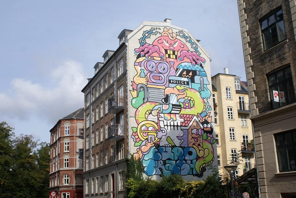 Street Art à Copenhague