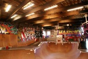 Skatepark Wonderland à Copenhague [Christiania]
