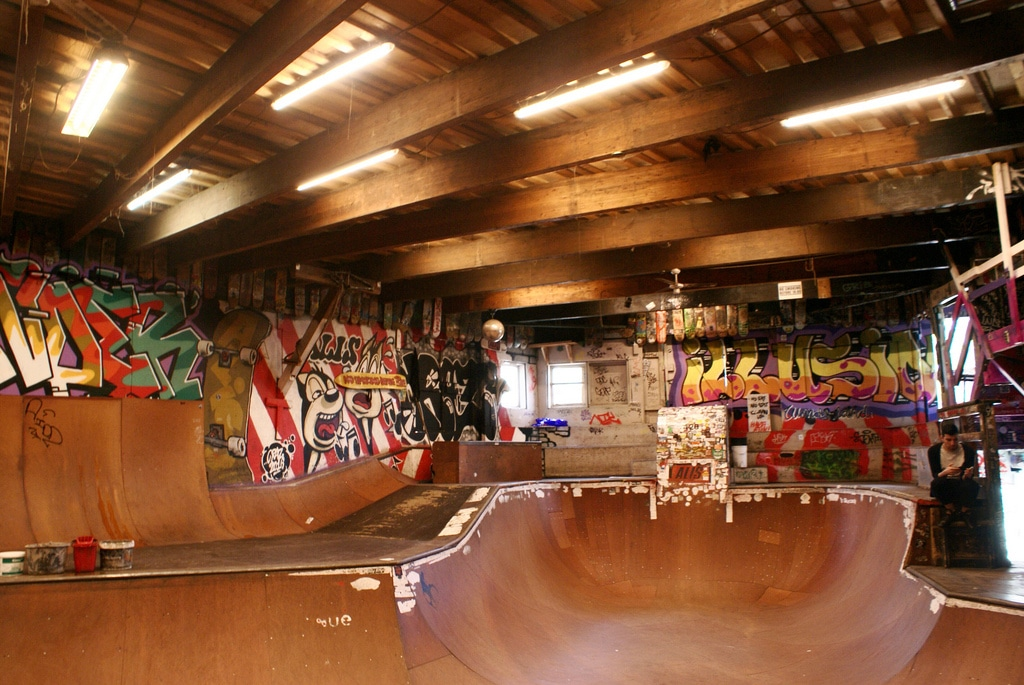 Skatepark Wonderland à Copenhague [Christiania]