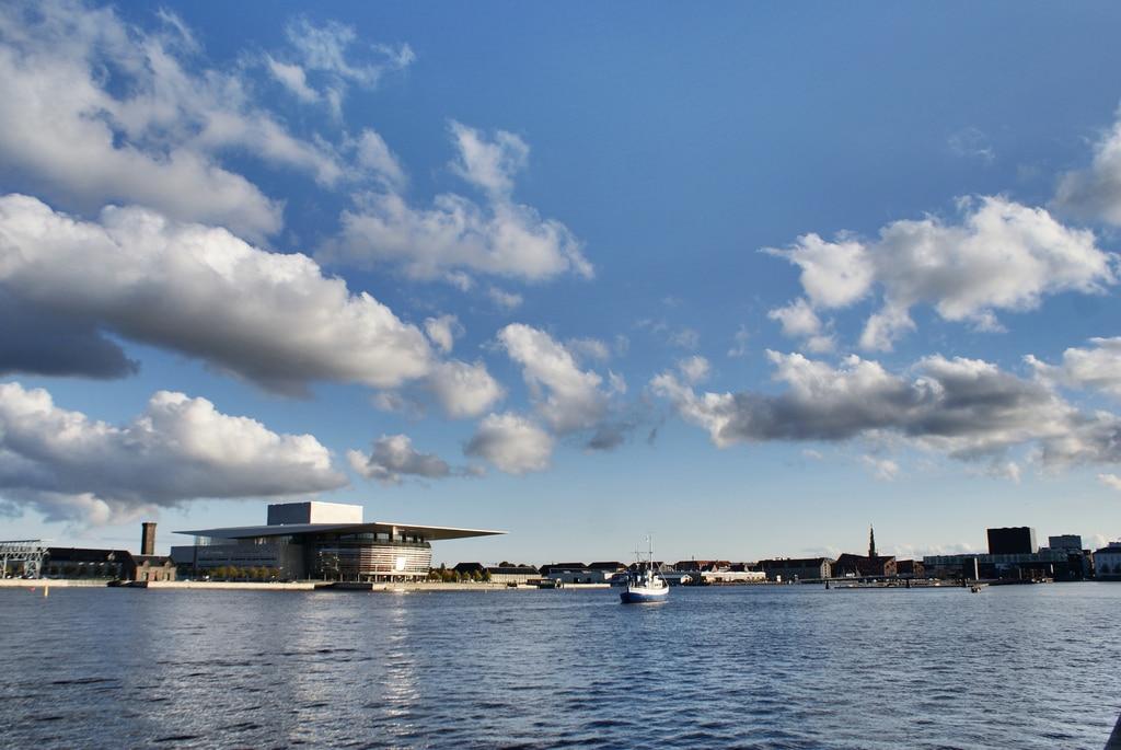 Port de Copenhague et la petite sirène