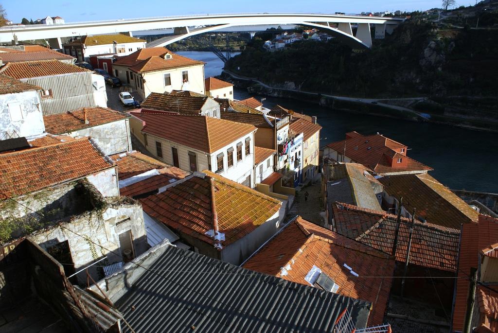 Quartier abandonné de Porto