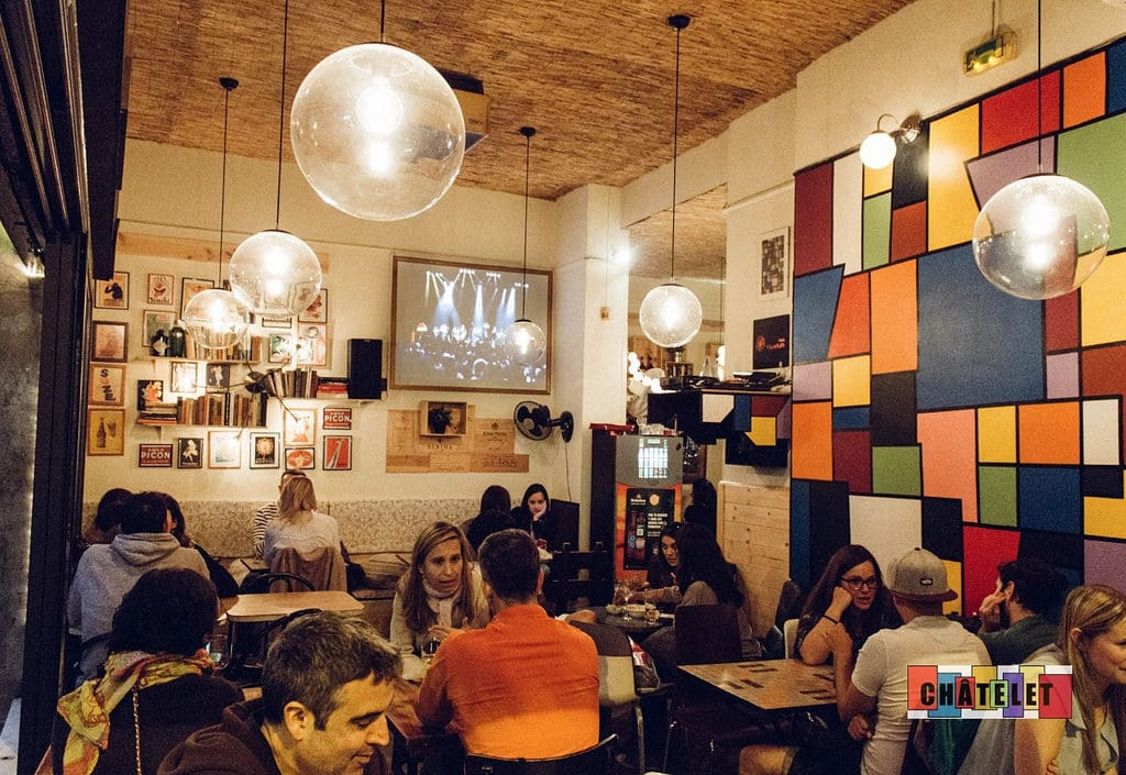 Chatelet, bar cool à la française à Barcelone [Gracia]