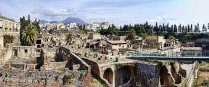 Herculanum, vestiges et ruines près de Naples