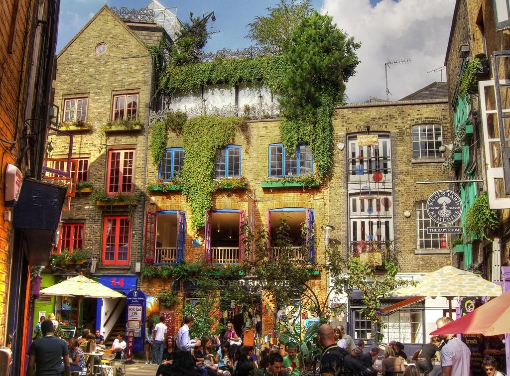 Neal's Yard à Londres : Lieu atypique un brin new-age [Covent garden]