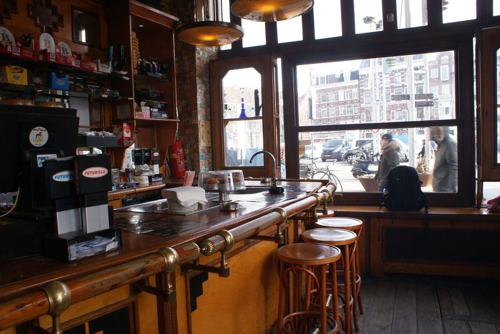 Coffee shop Jolly Joker à Amsterdam [Vieille ville / Chinatown]