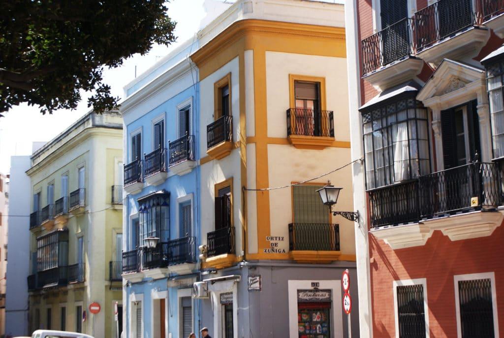 Quartiers de Séville : Ici dans le centre du coeur historique de la capitale andalouse.