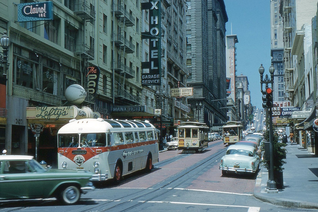 Downtown à San Francisco : Centre ville de SF