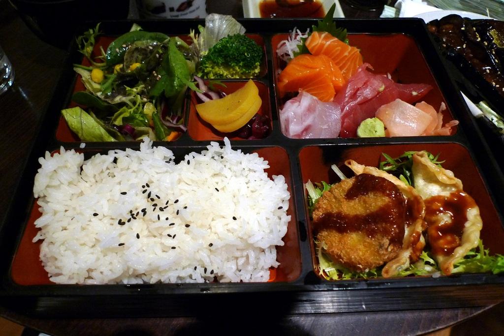 Bento, restaurant japonais pas cher à Londres [Camden town]