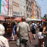 Marché d'Albert Cuypmarkt : Le plus grand d'Amsterdam [Pijp]