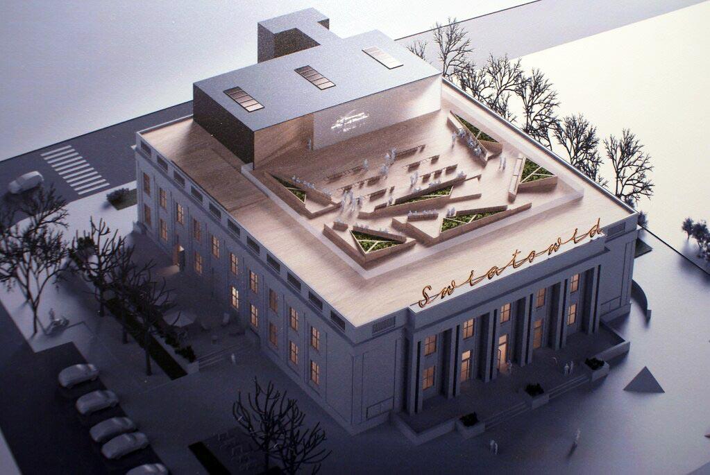Projet de rénovation du futur musée de Nowa Huta à Cracovie : Swiatowid.
