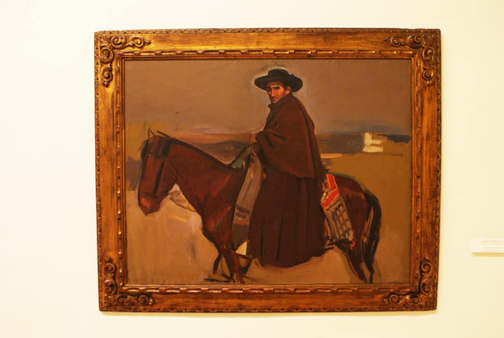 Toile de Joaquim Sorolla (vers 1900?) au Musée des Beaux Arts de Séville.