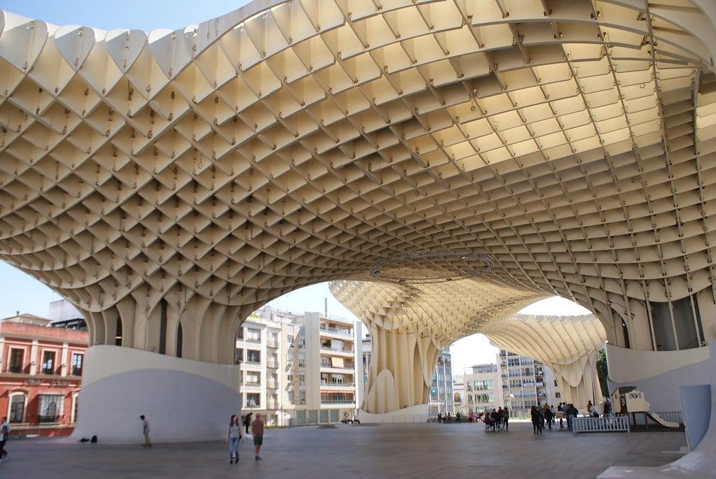 """Metropol Parasol ou Las Setas à Séville, superbe construction """"organique"""" [Centre]"""