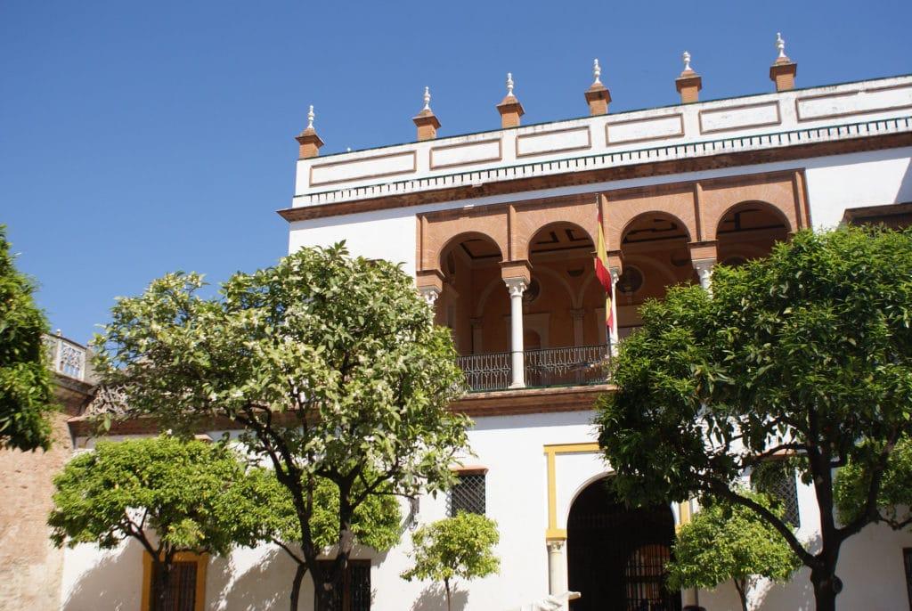 Palais de Casa de Pilatos dans la Vieille Ville de Séville.