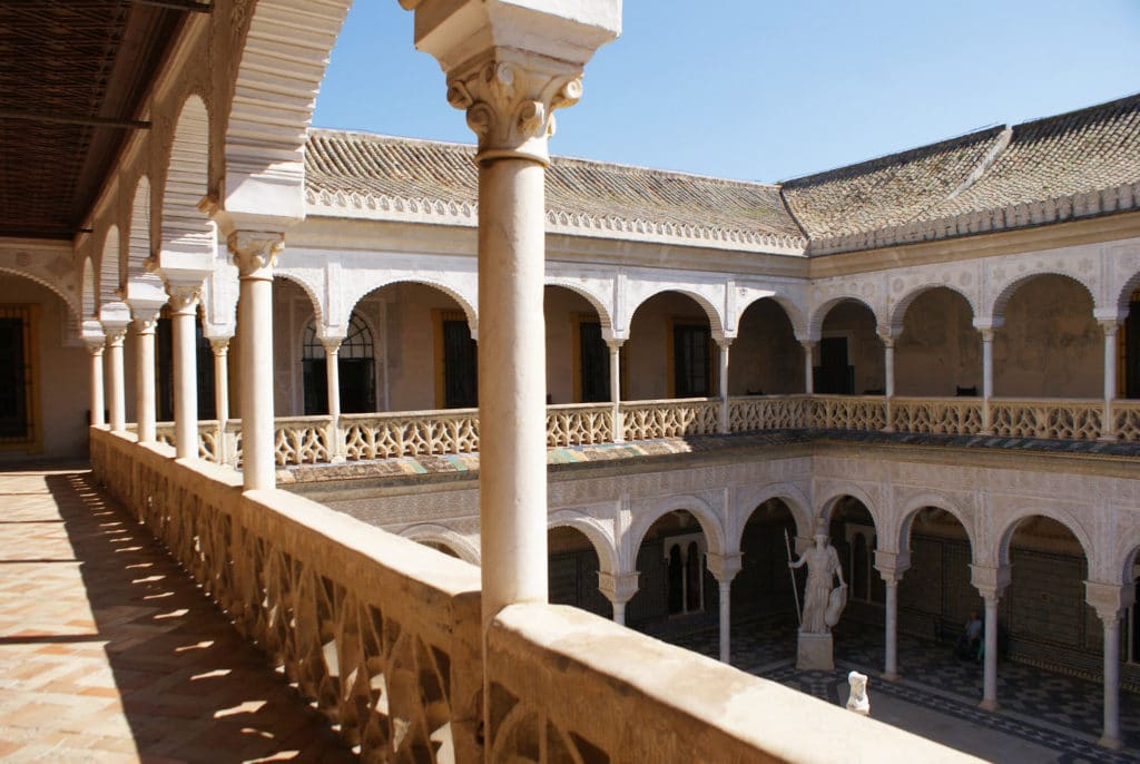 Palais Casa de Pilatos dans le quartier du centre de Séville.