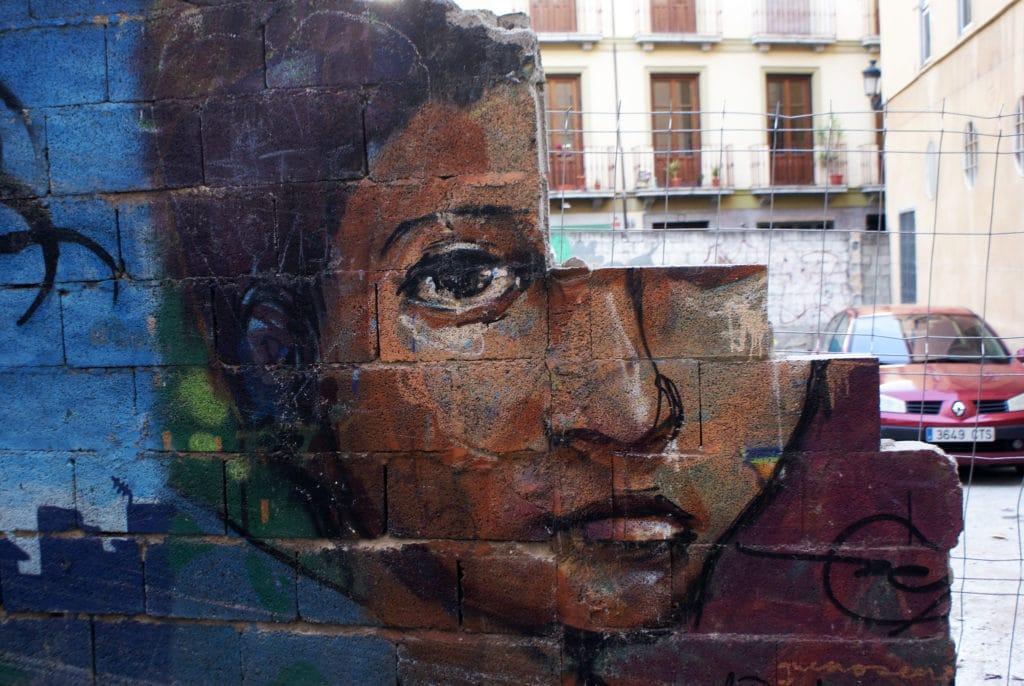 Street art à Grenade.