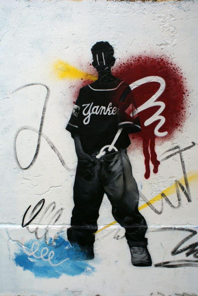 Street art à Olhão.