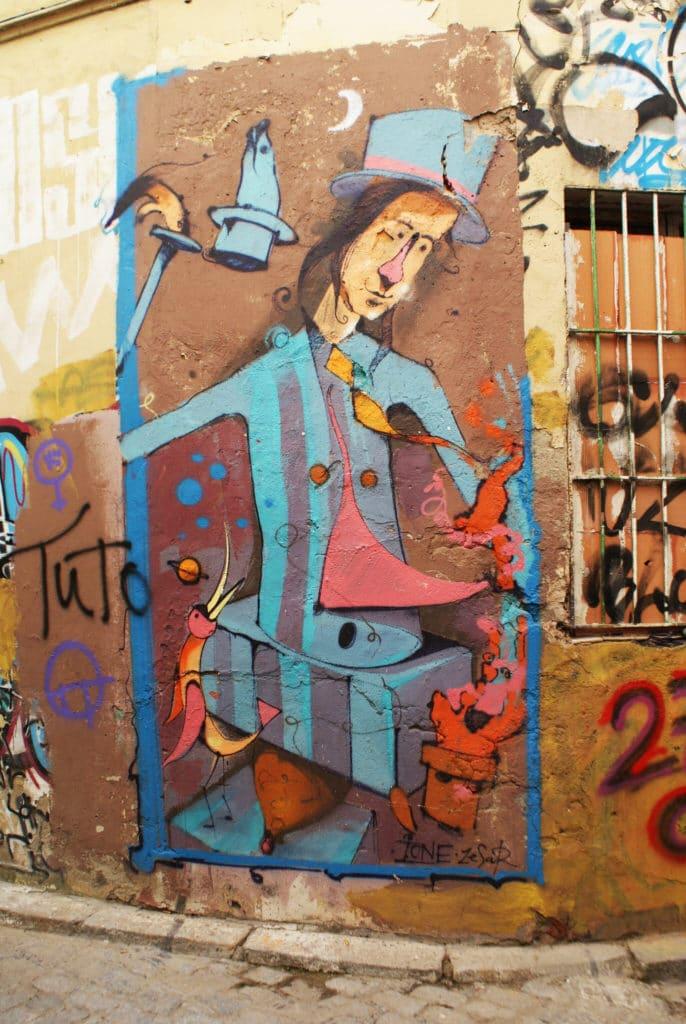 > Street art dans le quartier d'Alameda à Séville.